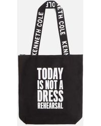 Kenneth Cole - Today Is Not A Dress Rehearsal Tote - Lyst