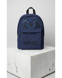 KENZO - Large Tiger Canvas Backpack - Lyst