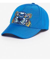 KENZO - Tiger Canvas Cap - Lyst