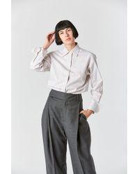 Studio Nicholson - Plain Stripe Shirt - Lyst