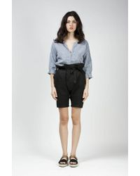 Reality Studio - Taki Belted Shorts - Lyst
