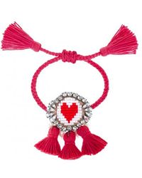 Shourouk - Hippie Heart Bracelet - Lyst
