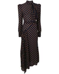 Alessandra Rich - Polkadot Dress - Lyst
