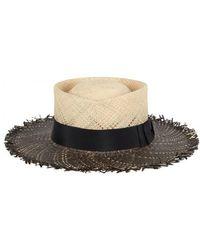 Gladys Tamez Millinery - Riviera Straw Hat - Lyst