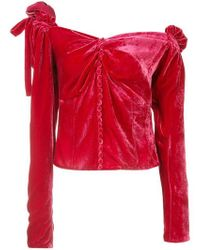 Magda Butrym - Buttoned Blouse - Lyst
