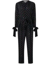 Stella McCartney - Long Sleeve Bow Cuff Jumpsuit - Lyst