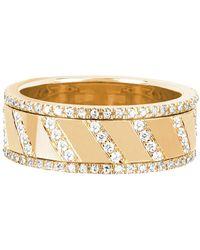 EF Collection - Diamond Splash Spinning Ring - Lyst