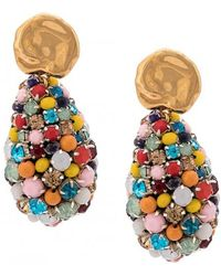 Lizzie Fortunato - Roman Holiday Earrings - Lyst