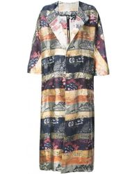 Adam Lippes | Oversized Cocoon Reversible Coat | Lyst