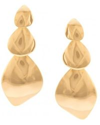 Lizzie Fortunato - Gold Lecce Earrings - Lyst