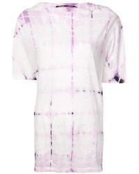 Proenza Schouler - Tie Dye T-shirt - Lyst