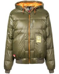 R13 - Hooded Puffer Jacket - Lyst