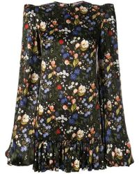 The Vampire's Wife - Floral Frill Detailed Dress - Lyst