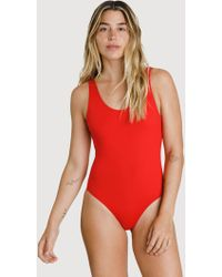 9bd534e5137 Kit and Ace - Kits Scoop Back Swim One Piece - Lyst