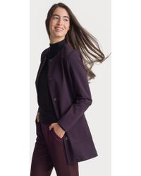Kit and Ace - Collarless Stretch Jacket - Lyst