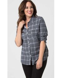 Lyssé - Schiffer Button Down - Lyst