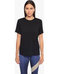 Koral - Arabela Brisa Short Sleeve T-shirt - Black - Lyst