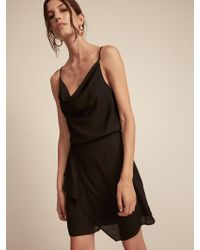 Krisa - Drape Skirt Mini - Lyst