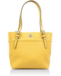 Anne Klein - Pocket D1 Tote In Yellow - Lyst