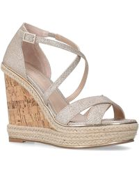 Carvela Kurt Geiger - Carvela-sublime-gold - Lyst