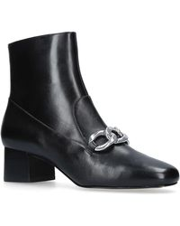 MICHAEL Michael Kors | Vanessa Ankle Boot In Black | Lyst