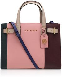 Kurt Geiger - Saffiano London Tote In Multi/other - Lyst