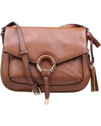 Vince Camuto - Adina Crossbody In Brown - Lyst