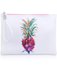 Vince Camuto - Maro Clutch In White - Lyst