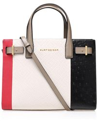 Kurt Geiger - Woven London Tote In Multi/other - Lyst
