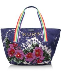 Kurt Geiger - Daisy Shopper In Navy - Lyst