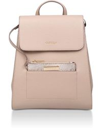 Carvela Kurt Geiger - Slinky Backpack With Pk - Lyst