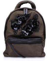 Kurt Geiger - Nylon Backpack In Khaki - Lyst