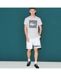 Lacoste - Sport Contrast Tennis Shorts - Lyst