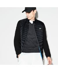ee889ee99077 Lyst - Lacoste Sport Water-resistant Technical Quilted Golf Jacket ...