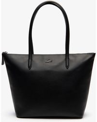 Lacoste - L.12.12 Small Leather Zip Tote Bag - Lyst