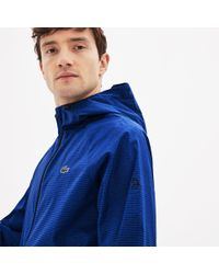 Lyst - Lacoste Sport Hooded Technical Midlayer Jacket - X Novak ... ff09e969f8b