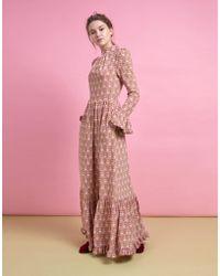 569ee87abbd9a A.L.C. Rosa Leopard-pattern Velvet Halter Dress in Black - Lyst