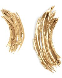 Lady Grey | Gwendolyn Earrings In Gold | Lyst