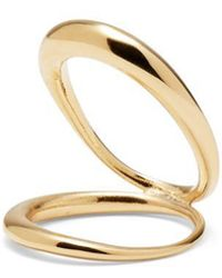 Lady Grey - Echo Ring In Gold - Lyst