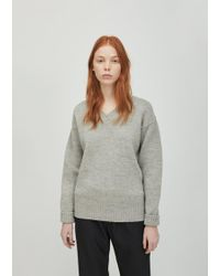 MHL by Margaret Howell - British Merino Oversized Sweater - Lyst