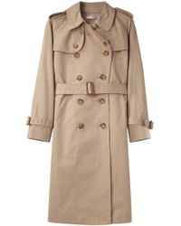 Tsumori Chisato - Double Breasted Trench Coat - Lyst