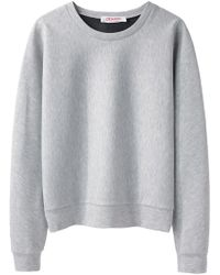 Organic By John Patrick - Cropped Sweatshirt - Lyst