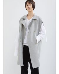 Nehera - Cary Doubleface Alpaca Wool Vest - Lyst