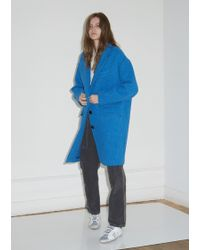 a50fd4e0d3207 Étoile Isabel Marant - Gimi Wool Cocoon Coat - Lyst