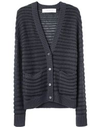 Cacharel - Ribbed Cardigan - Lyst