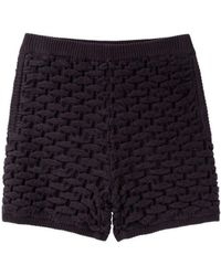 Opening Ceremony - Smocked Stitch Shorts - Lyst
