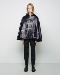 Band of Outsiders - Trompe L'oeil Cape - Lyst