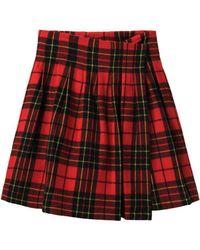 Limi Feu - Tartan Wrap Skirt - Lyst