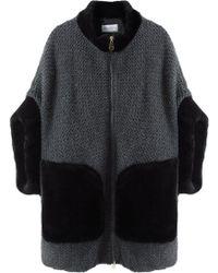Tsumori Chisato | Wool Tweed Coat | Lyst