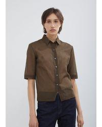 Moderne - Organdy Shirt - Lyst